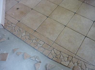 Posa piastrelle pavimento stampato ambito civile e industriale pav edil - Posa piastrelle pavimento ...